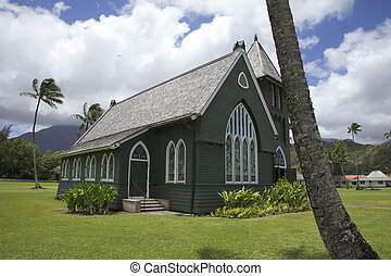 Iglesia verde Hanalei