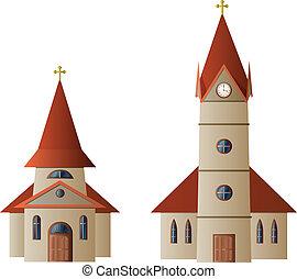 Iglesia y capilla