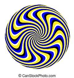 illusion), vuelta, (motion, mármol