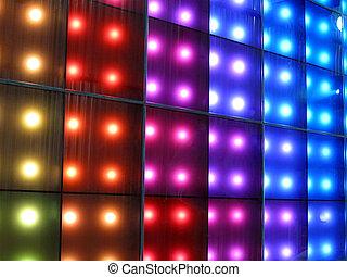 Iluminación de música, fiesta