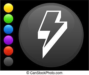 Iluminación en el botón de Internet