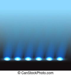 Iluminado vector de fase