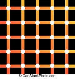 ilusión óptica, colorido