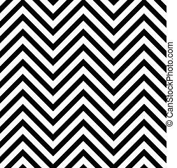 Ilusión óptica con líneas zig zag