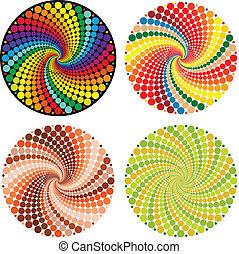 Ilusión óptica (Vector EPS)