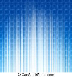 Ilustración abstracta en azul
