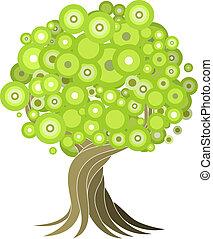 Ilustración de árbol