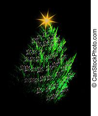 Ilustración de árbol de Navidad