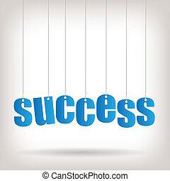 Ilustración de éxito