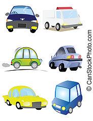 Ilustración de auto en vector
