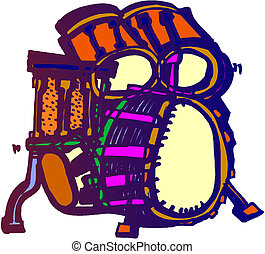 Ilustración de batería