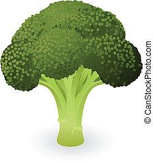 Ilustración de brócoli
