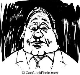 Ilustración de caricaturas