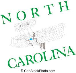 Ilustración de Carolina del Norte