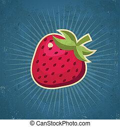 Ilustración de fresa