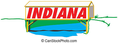 Ilustración de Indiana