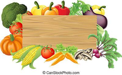 Ilustración de madera vegetable