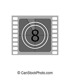 Ilustración de películas