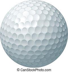 Ilustración de pelotas de golf