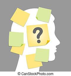Ilustración de preguntas