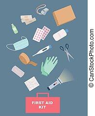 Ilustración de primeros auxilios