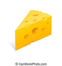 Ilustración de queso
