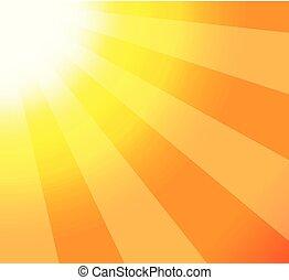 Ilustración de rayos de sol