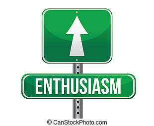 Ilustración de signos de entusiasmo