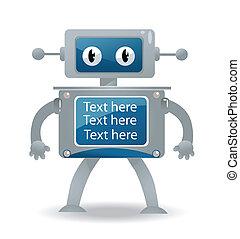 Ilustración de un robot