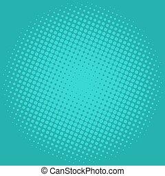 Ilustración de vector azul verde