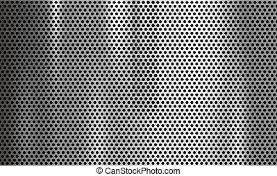 Ilustración de vector de vector de origen metal