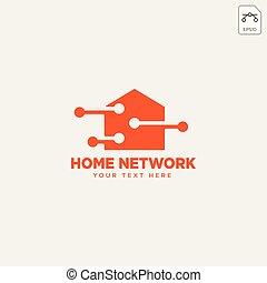 Ilustración de vector de vectores de la red local