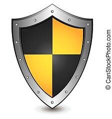 Ilustración de vectores de amarillo negro