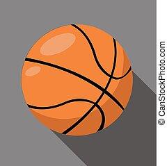 Ilustración de vectores de baloncesto