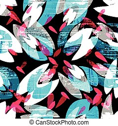Ilustración de vectores de graffiti de colores psicodélicos