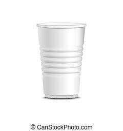 Ilustración de vectores de la copa blanca