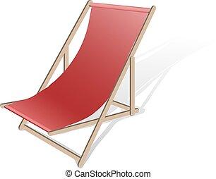 Ilustración de vectores de la playa