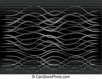 Ilustración de vectores de negro