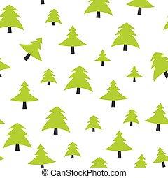 Ilustración de vectores de origen de árboles de Navidad