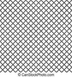 Ilustración de vectores de patrones abstractos de fondo blanco