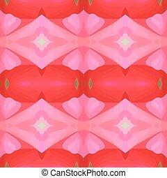 Ilustración de vectores de rojo y rosa