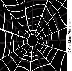 Ilustración de vectores de telaraña