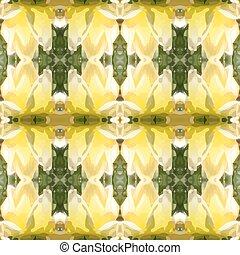 Ilustración de vectores de un amarillo-gre
