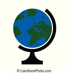 Ilustración de vectores de un globo