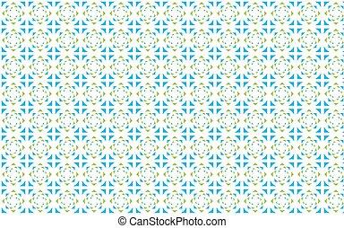 Ilustración de vectores de un patrón de triángulos de colores en un fondo blanco