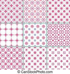 Ilustración de vectores de un patrón