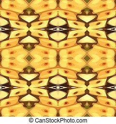 Ilustración de vectores de una mota amarilla