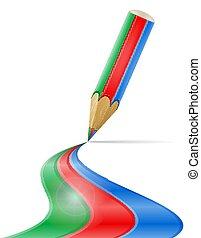 Ilustración de vectores de vectores de arte creativo