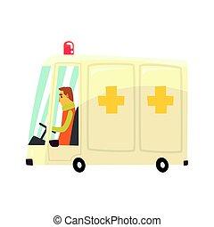 Ilustración de vectores de vehículos de cartón