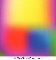 Ilustración de vectores, fondo colorido suave